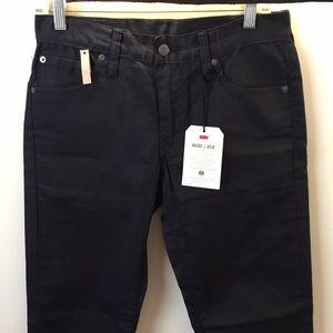 Levi's 511 Waxed Denim Jeans made in USA